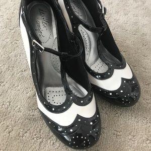 Rockabilly Pinup Oxford-like Heels